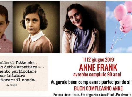 Per non dimenticare Anne Frank
