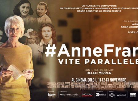 """#AnneFrank Vite parallele"", al cinema il documentario"