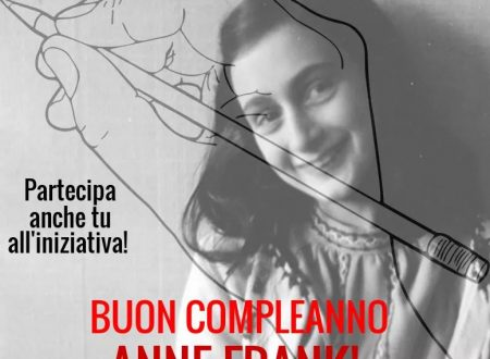 """""""BUON COMPLEANNO ANNE FRANK""""!"""